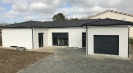 construction et réalisation de la maison de FONTENILLES