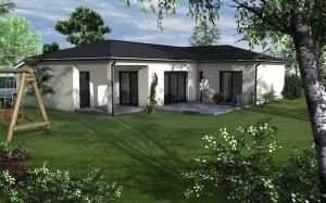 projet de construction d une maison sur sainte foy d agrefeuille 31570 ma concept. Black Bedroom Furniture Sets. Home Design Ideas