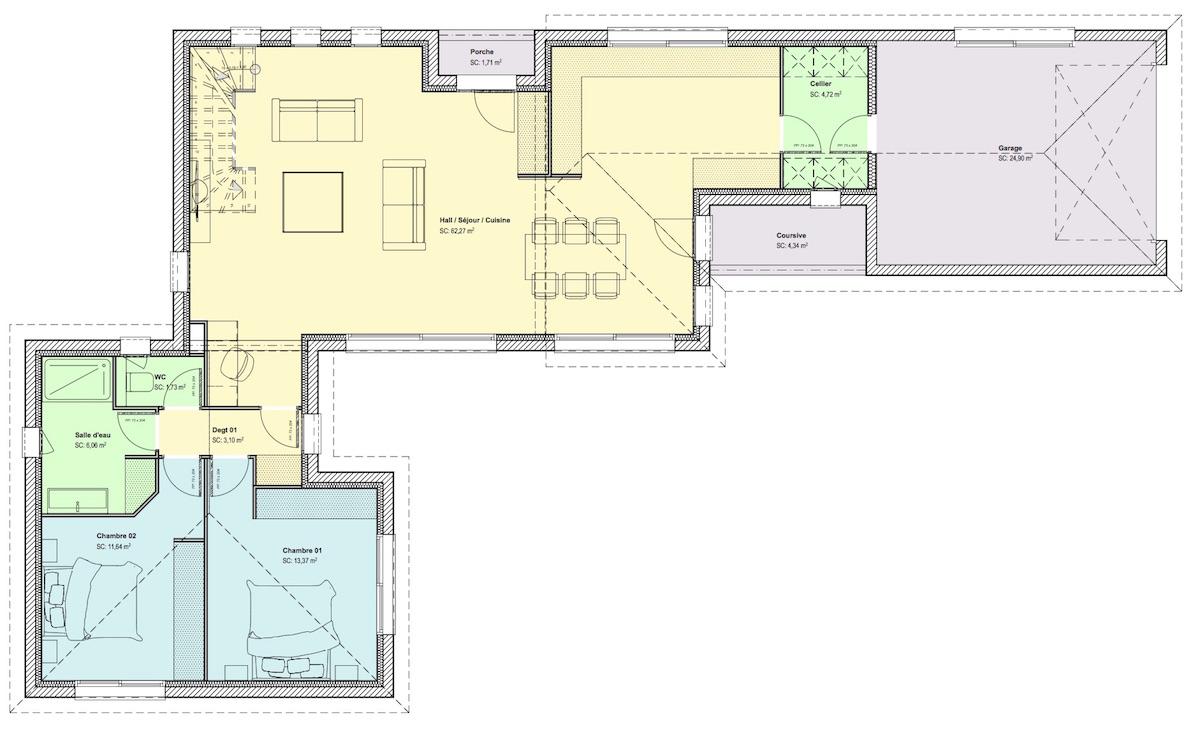 Maison étage partiel RdC-1 - site web - copie