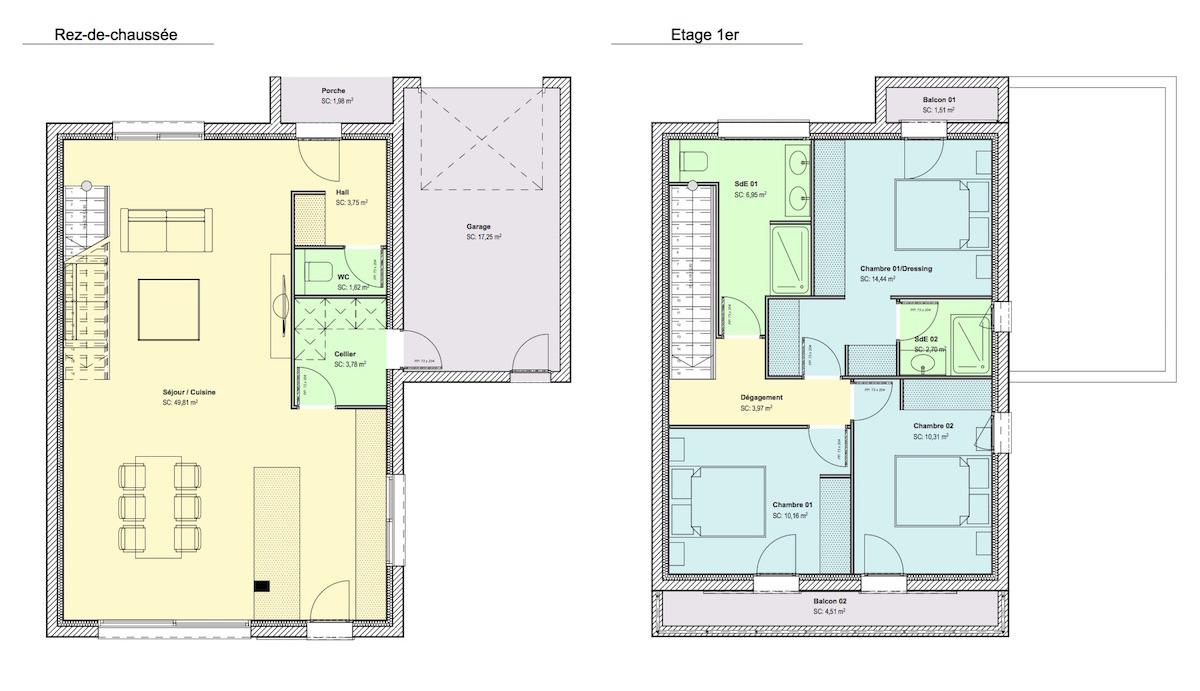 Maison 110m2 (ville) côté - site web - copie