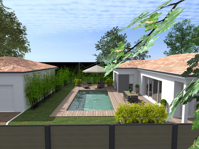 Construction d une maison fonsorbes 31470 ma concept for Piscine fonsorbes