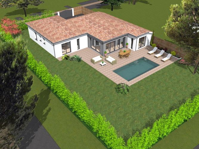 Construction d'une maison individuelle sur la commune de LABEGE 31670 proche de TOULOUSE