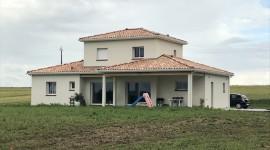 Construction de la maison individuelle de PAULHAC 31380